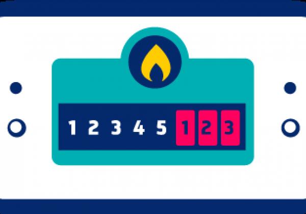 meetcode gasaansluiting