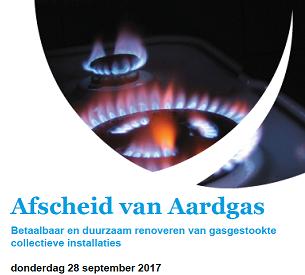afscheid van aardgas event