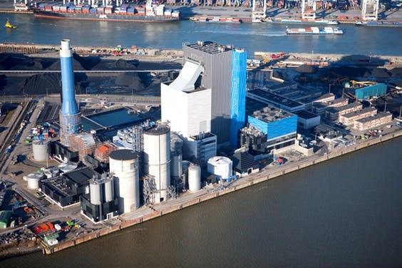 Centrale Rotterdam van Engie