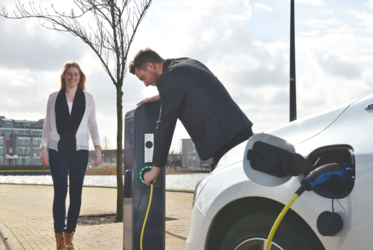 E-mobility laadpalen Aenergie